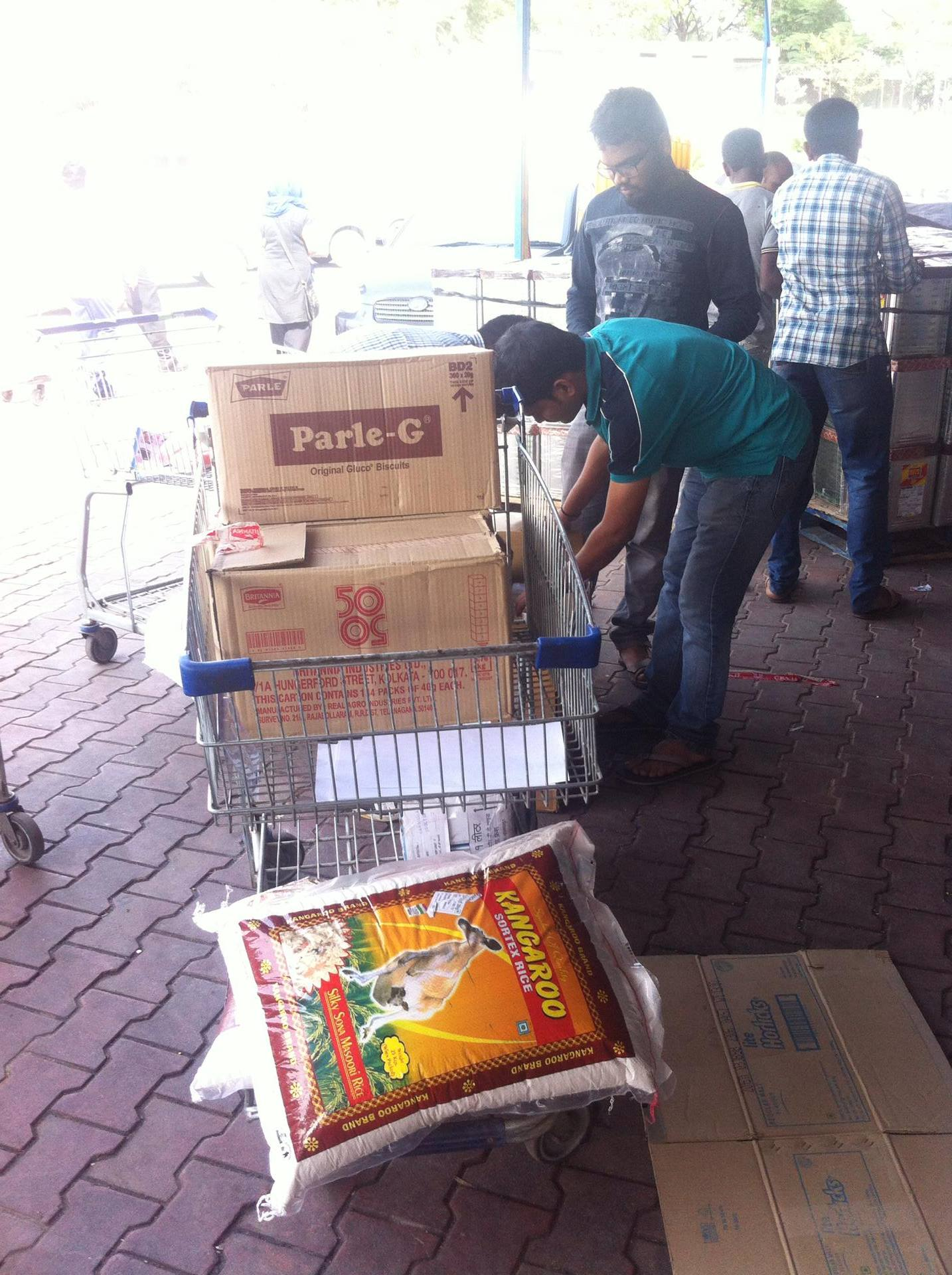 Food donation picture